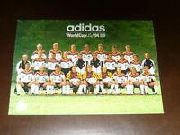 adidas: DFB WM 1994 USA, faksimile Autogrammkarte