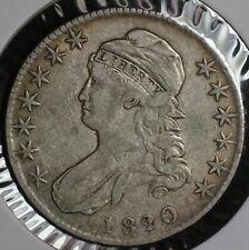 1820/19 Capped Bust Half Dollar 50C Coin