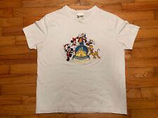 Vtg Walt Disney World All Embroidered T-Shirt Size Women's L