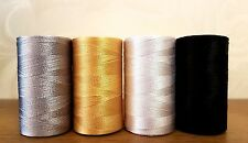 Silk spools sewing art machine embroidery basic thread all purpose 4 mix colors