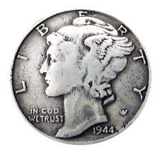 "Leathercraft Mercury Dime Reproduction Coin Concho screwback Conchos 3/4"""