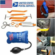 Universal 13 Pcs Car Door Panel Trim Dashboard Removal Pump Wedge Pry Tools Kit