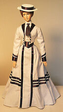 """1896 Gibson Girl Look Outfit Sewing Pattern for a 17"""" doll #95"""