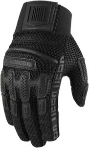 Icon 1000 Brigand Mid-Length Cuff Gloves - Black 2X-Large 3301-3729