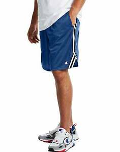 Champion Men's Lacrosse Shorts Athletics 9 in inseam Pockets Stripes Athletic