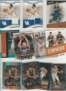 DEVIN BOOKER LOT (43) DIFFERENT W/ 2 UK JERSEY RELIC GU  17 INSERTS PRIZM MORE