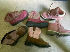 Lot Of Girls boots Size 12 ~ Justin, Roper, Route 66