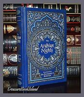 Arabian Nights by R. Burton Illustrated New Sealed Leather Bound Collectible