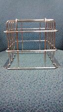 """Wire Guard for Fire Alarm Speaker/Strobes, Nickel Plated, 9"""" x 7"""" x 7"""" Deep."""