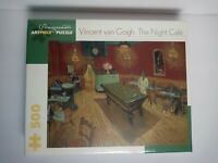 Vincent Van Gogh The Night Cafe 500 pc Jigsaw Puzzle. Pomegranate Artpiece. NEW