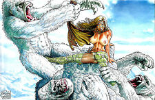 CAVEWOMAN SNOW #3 Budd Root Special Edition NUDE Cover Nice! NM New AMRYL Ent.