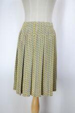 PLEATS PLEASE Yellow/Gray Skirt XL ISSEY MIYAKE 354 2858
