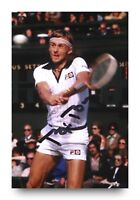 Bjorn Borg Signed 6x4 Photo Wimbledon Tennis Genuine Autograph Memorabilia + COA