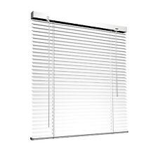 Alu Jalousie Aluminium Lamelle Klemmfix Klemmclips Fenster Tür 90x130cm weiß