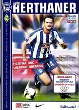 BL 2008/09 Hertha BSC - Werder Bremen, 19.04.2009