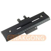 2 way Macro Shot Focus Extension Rail Slider for CANON NIKON SONY Camera D-SLR