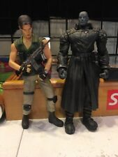 "Resident Evil Tyrant Carlos Oliveira Bio Hazard Moby Dick 8"" Action Figures"