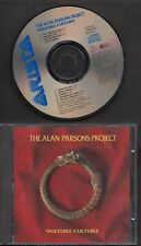 THE ALAN PARSONS PROJECT Vulture Culture CD ARISTA EURODISC WEST GERMANY TOPAC
