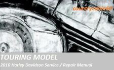 2010 Harley Touring Factory Service Shop / Repair CD Manual