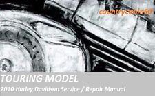 2010 Harley Davidson Touring Factory Service Shop / Repair CD Manual