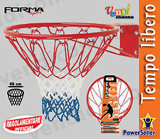 Coppia canestri Sport One 2 Canestro regolamentare Pallacanestro Basket Pallone