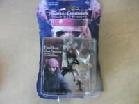 Pirates of the Caribbean Figure, Final Battle Jack Sparrow, New & Carded, Zizzle