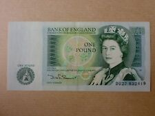 England 1 Pound 1981 - 1984 QEII (EF), Great Britian, 4pcs Running Number