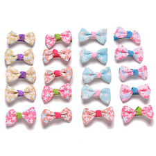 20 Pcs Kids Bow Hairpin Girls Hair Accessories Hair Clips for Party Dress