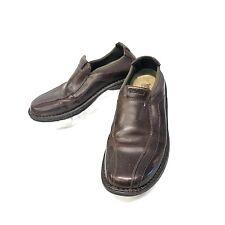 Timberland Smart Comfort men's slip on dark brown leather loafers 8.5M    (sh69)