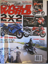 Cycle World Magazine September 2006 Harley CVO Fat Boy vs Victory Ness Jackpot
