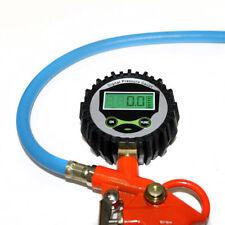 LSD Car Motorcycle Truck Tire Tyre Inflating Inflator Gun Pressure Digital Dial