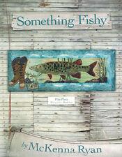 Art Quilt Pattern ~ SOMETHING FISHY - PIKE PLACE ~ Block 4 by McKenna Ryan
