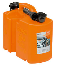 STIHL Profi Kanister Benzinkanister Kombi-Kanister orange, 5L/3L