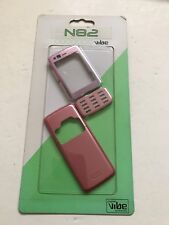 Nokia N82 - Full Fascia Housing Cover Front Back Case Keypad Replacement Pink