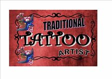 Vintage Tattoo Sign Retro Style Sign Kitchen Sign Tattoo Store Sign Ink shop