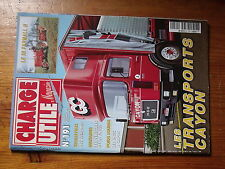 $$v Revue Charge Utile magazine N°191 Cayon  IH Farmall H  Jacquemond  FINUL