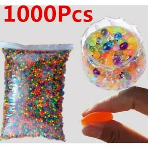 1000 ORBEEZ WATER CRYSTAL MULTI DECOR GIFT XMAS AQUA GEL VASE BEADS UK SELLER