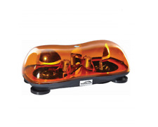 12v HALOGEN MAGNETIC TWIN BEACON LIGHT BAR, VAN,TRACTOR TRUCK... BARGAIN PRICE !