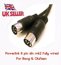 8 pin din mk2 POWERLINK Cable connect BeoLab loud speakers to Bang  Olufsen 0.5m