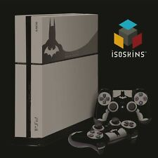 Isoskin® Bat Special Edition Grey & Black Playstation 4 (PS4) Skin Decal