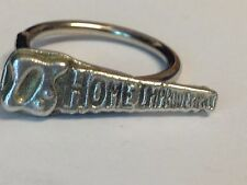 Saw TG35 Fine English Pewter on a Scarf Ring
