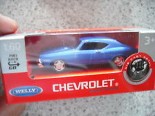 WELLY PULL BACK ANG GO 1:60 DIE CAST CAR CHEVROLET SERIES
