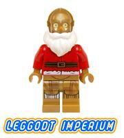 LEGO Minifigure Star Wars - Christmas C-3PO Santa - sw680 holidays FREE POST