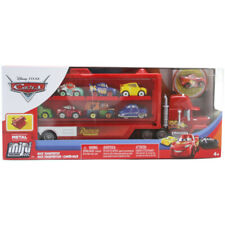 Disney Cars Mini Racers Mack Transporter Includes Lightning McQueen - FLG70
