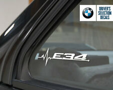BMW E34 is in my Blood window sticker decals graphic