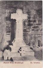 Ancient Cross. GLENDALOUGH, County Wicklow, Ireland