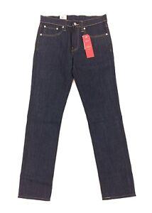 NEW Levi's Strauss 511 Slim 2-Way Stretch Dark Blue Mens Denim Jeans Red Tab NWT