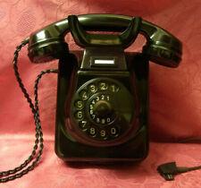 W49 Wand-TischTelefon  Bakelit POST TI-WA  Telephone  TOP! Wie Neu!