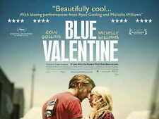 BLUE VALENTINE Movie POSTER UK 30x40 Ryan Gosling Michelle Williams