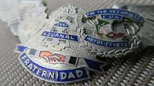 MEXICO Zoll Orig. Police Badge ADUANAL Customs Brustabzeichen Abzeichen Mexiko